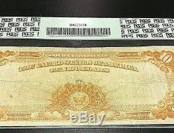 1922 10$ Gold Coin Note Graded By Pcgs Very Fine 20 In Spectacular Condition