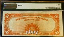 1922 $10 Large Gold Certificate Pmg 30 Very Fine, Must See