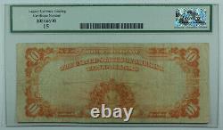 1922 $10 Ten Dollar Gold Certificate Note Fr. 1173 Legacy Fine 15