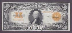 1922 $20 BEAUTIFUL CRISP Extra Fine'GOLD COIN' CERTIFICATE