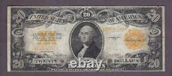 1922 $20 CRISP Fine+'GOLD COIN' CERTIFICATE