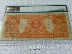 1922 $20 GOLD CERTIFICATE PMG Very Fine 20 Fr 1185 Parker/ Burke free ship