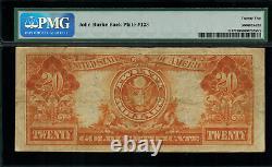 1922 $20 Gold Certificate FR-1187 Mule Graded PMG 25 Very Fine