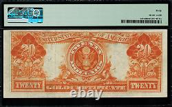 1922 $20 Gold Certificate FR-1187 PMG 40 Extremely Fine