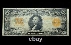 1922 $20 Gold Certificate Fine F Apparent Seal Cert L@@k Now 426 Trusted
