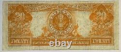 1922 $20 Gold Certificate Fr-1187, Original Very Fine