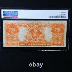 1922 $20 Gold Certificate, Fr # 1187, PMG 25 Very Fine (Speelman-White)