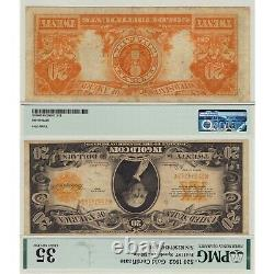 1922 $20 Gold Certificate Fr#1187 PMG Certified Choice Very Fine 35