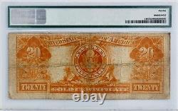 1922 $20 Gold Certificate Fr 1187 PMG Fine 12