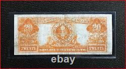 1922 $20 Gold Certificate, Fr # 1187, Very Fine (Speelman-White)