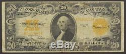 1922 $20 Gold Certificate Large Size Fine+ /N-912