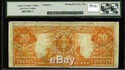1922 $20 Gold Certificate Mule Fr. 1187m Very Fine #K544932