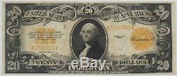 1922 $20 Gold Certificate Note Fr#1187 Pmg Very Fine 25 (391)