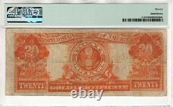 1922 $20 Gold Certificate Note Fr. 1187 Speelman White Pmg Very Fine Vf 20