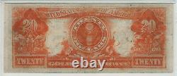 1922 $20 Gold Certificate Note Fr. 1187 Speelman White Pmg Very Fine Vf 25 (606)