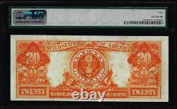 1922 $20 Gold Certificate Note Large Size PMG 40 Extremely Fine Uncirculated