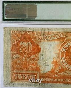 1922 $20 Gold Certificate Pmg30 Very Fine Speelman/white Legal Tender Dont Miss
