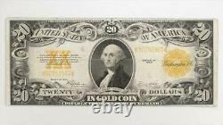 1922 $20 Gold Certificate S/N K50752967, Fr. 1187 Circulated Very Fine