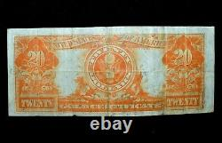 1922 $20 Gold Certificate Vf Very Fine Apparent Seal Cert 092 Trusted