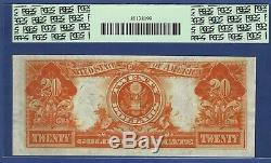 1922 $20 Gold-certificate Star Star Pcgs Ex Fine 40 Ppq Very Pretty