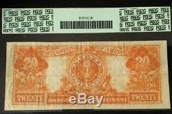 1922 $20 Large Gold Certificate Fr. 1187 Pcgs 30, Very Fine, Plate # B420/62