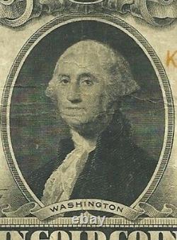1922 $20 Large Gold Certificate George Washington Super Fresh Very Fine