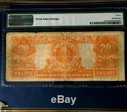 1922 $20 Large Gold Certificate Legaltender Pmg 20 Very Fine Mule Reasonable