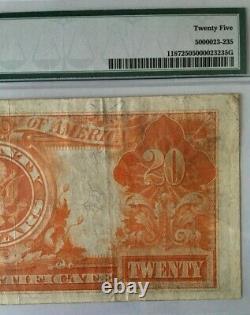 1922 $20 PMG 25 VERY FINE LARGE GOLD CERTIFICATE, SPEELMAN/WHITE, Fr#1187