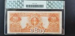 1922 $20 Twenty Dollar Gold Certificate FR. 1187 PCGS 35 Very Fine Apparent