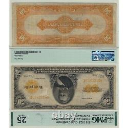 1922 $50 Gold Certificate Fr#1200 Large S/N PMG Certified Very Fine 25