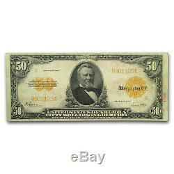 1922 $50 Gold Certificate Very Fine SKU#158532