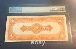 1922. $50. Gold certificate, Choice Very fine, PMG 35 Pretty
