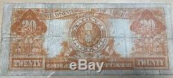 1922 Fine $20 Large Size Gold Certificate