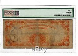 1922 Fr#1173 $10 GOLD CERTIFICATE PMG F-12 Fine Washington D. C. Rare Bill #2003