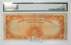 1922 Gold Certificate $10 Star Note Large S/n Fr. 1173 Pmg 30 Vf Very Fine 479d