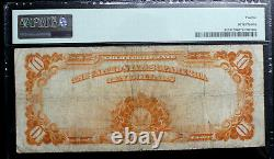 1922 Large Size $10 Gold Certificate Note PMG 12 FINE FR 1173