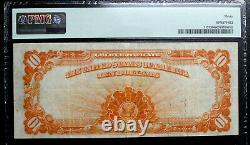 1922 Large Size $10 Gold Certificate Note PMG 30 VERY FINE FR 1173