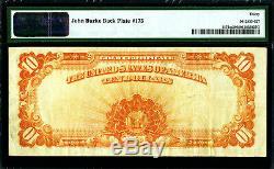 1922 Series MULE $10 Ten Dollar Gold Certificate PMG 30 Very Fine FR-1173m