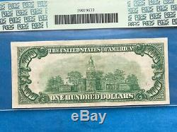 1928 $100 Gold Certificate Extremely Fine 45 Ppq