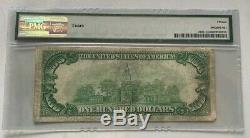 1928 $100 Gold Certificate Gold Seal Pmg Fine 15 Fr 2405 (aa Block) Woods/mellon