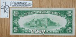1928 $10 Dollar Gold Certificate Fr 2400 EF XF Extra Fine