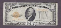 1928 $10 Fine+ GOLD Certificate