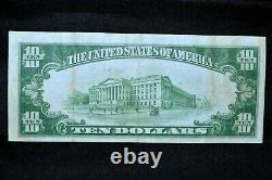 1928 $10 Gold Certificate Ch-vf Very Fine Yellow Seal Scarce 315 Trusted