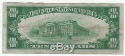 1928 $10 Gold Certificate Currency Circulated Choice Very Fine VF Problem Free