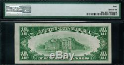1928 $10 Gold Certificate FR-2400 Star Note Graded PMG 40 Extremely Fine