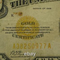 1928 $10 Gold Certificate Fine Details SKU #55514