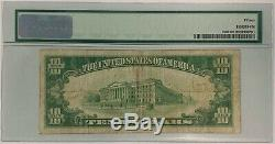 1928 $10 Gold Certificate PMG Choice Fine 15 Small Note Currency