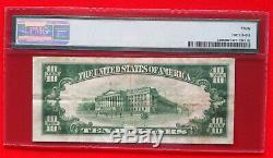 1928 $10 Gold Certificate PMG Very Fine 30 FR. 2400 (AA Block)