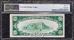 1928 $10 Gold Certificate PMG Very Fine+ VF 35 EPQ Fr. 2400