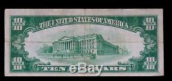1928 $10 Gold Certificate Paper Money Note Extra Fine++ #5021a
